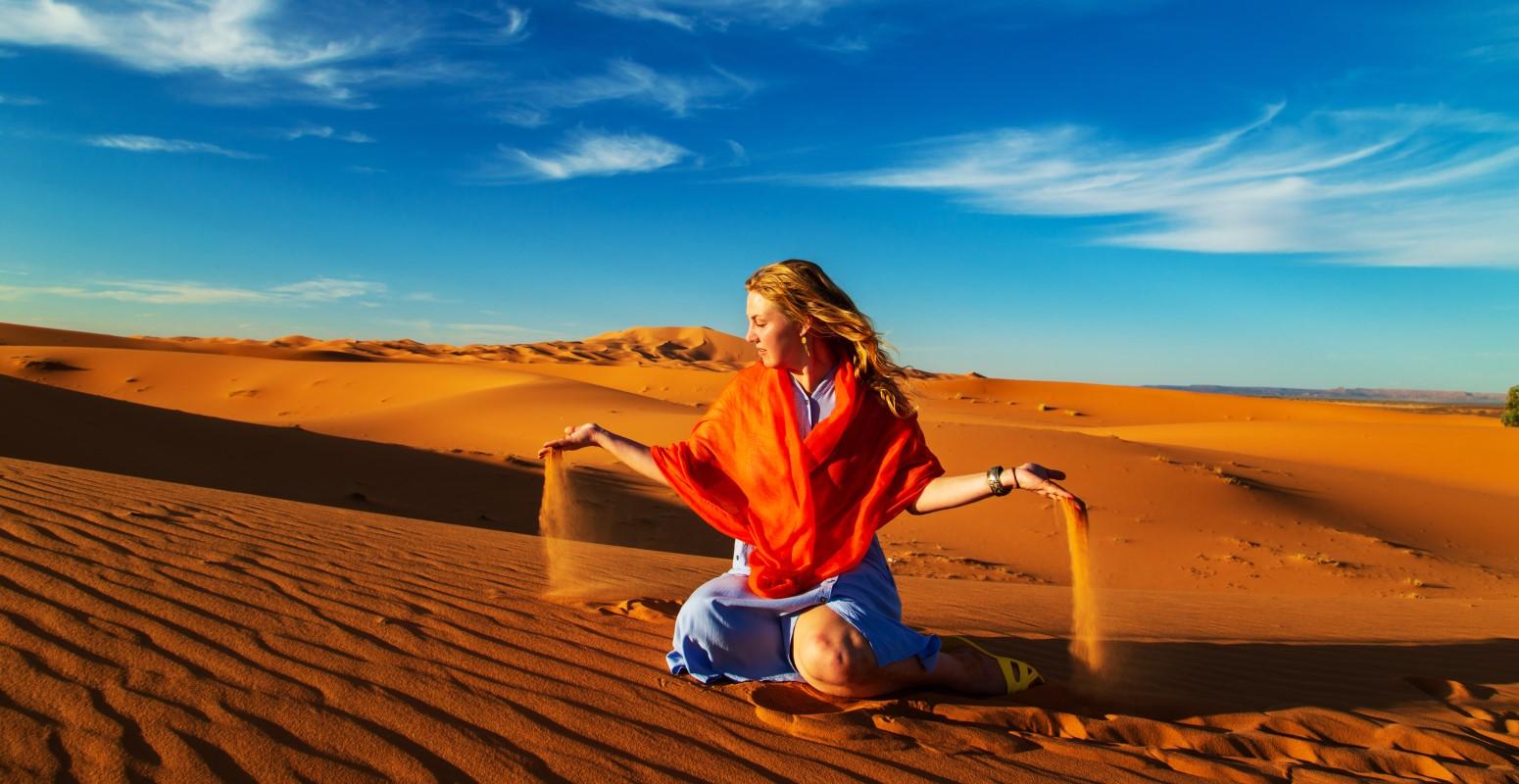 marruecos sahara desierto