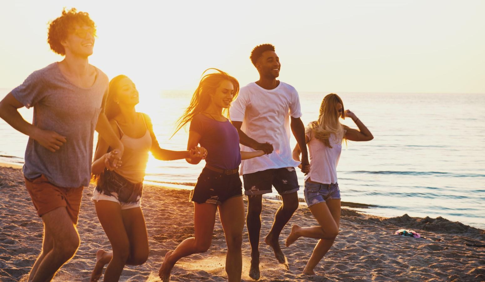 preadolescentes en costa calida vacaciones en familia