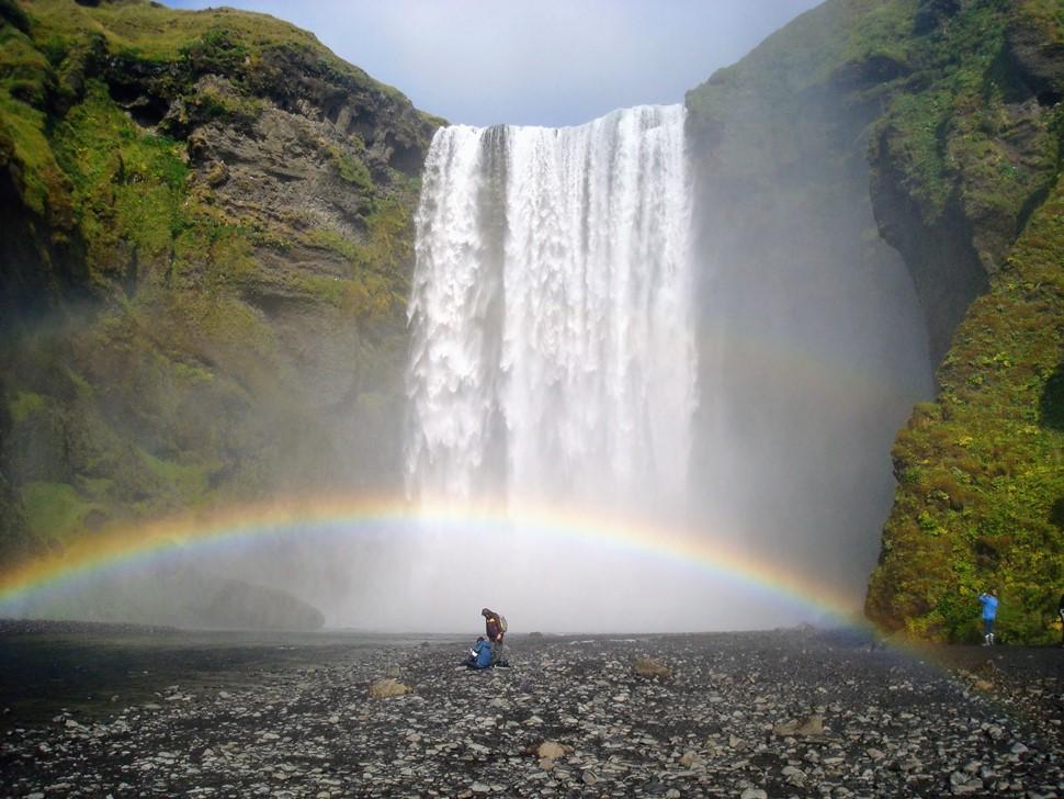 Amalur M. Islandia al completo Verano 2017 Skogafoss co arcoiris