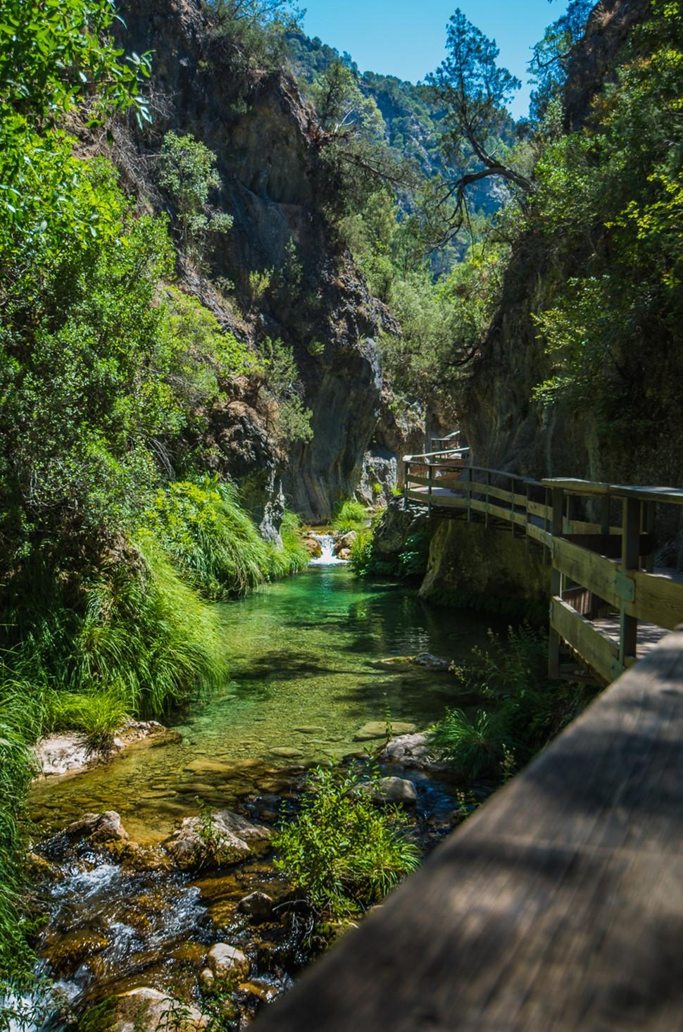 Jesús P Multiaventura en Cazorla Verano 2017 El agua en Cazorla