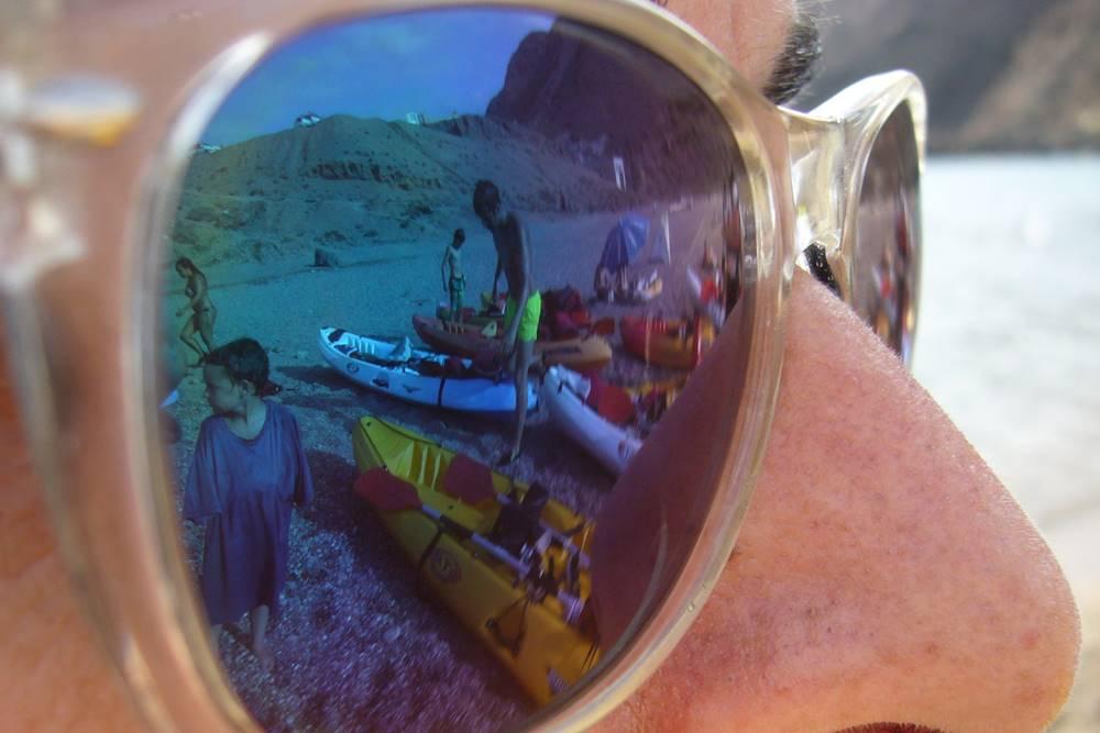 Jose M C Aventura en Cabo de Gata Verano 2016 Sol y kayak