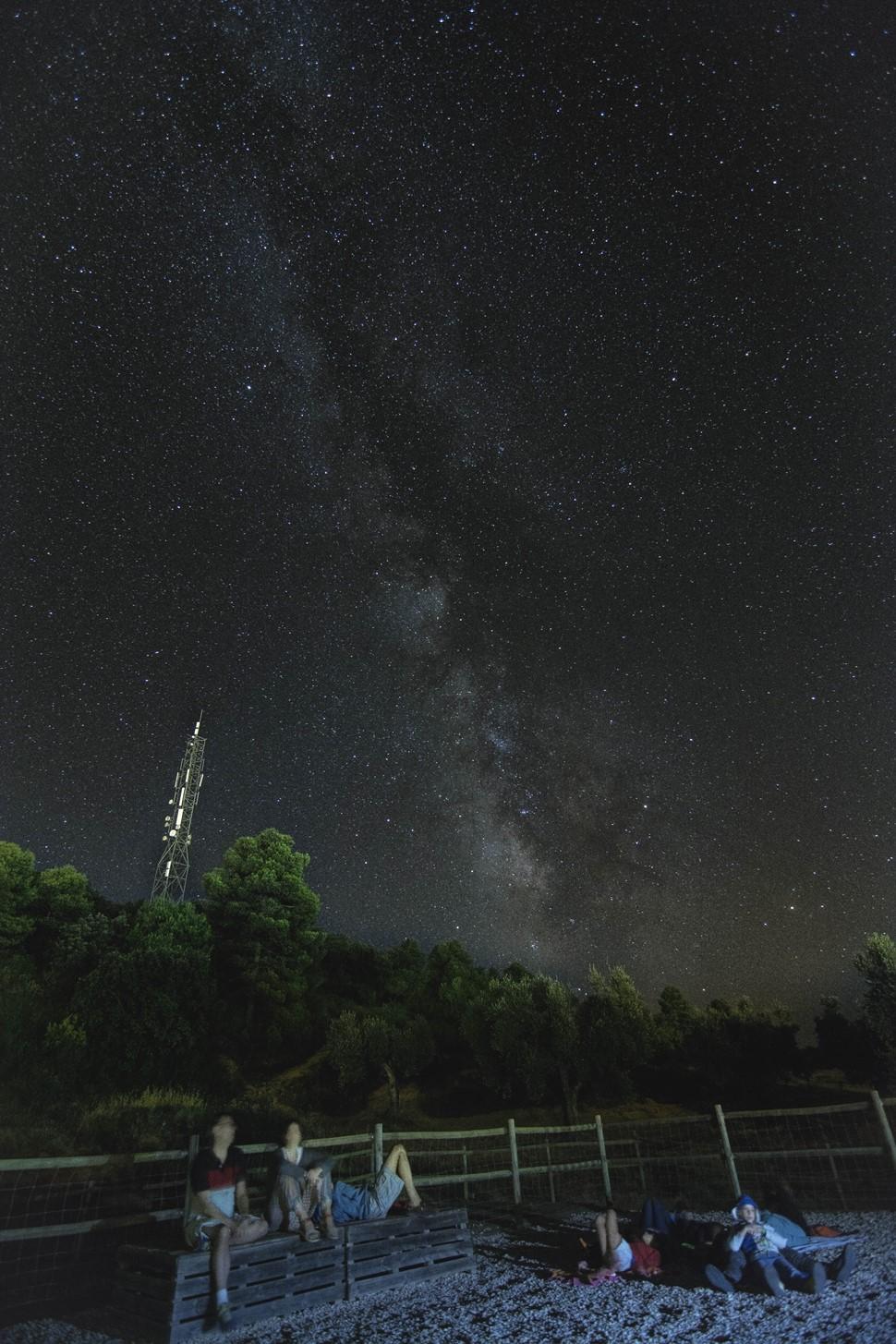 Juan Carlos M Efecto Vilar Rural Contemplando la Vía Láctea
