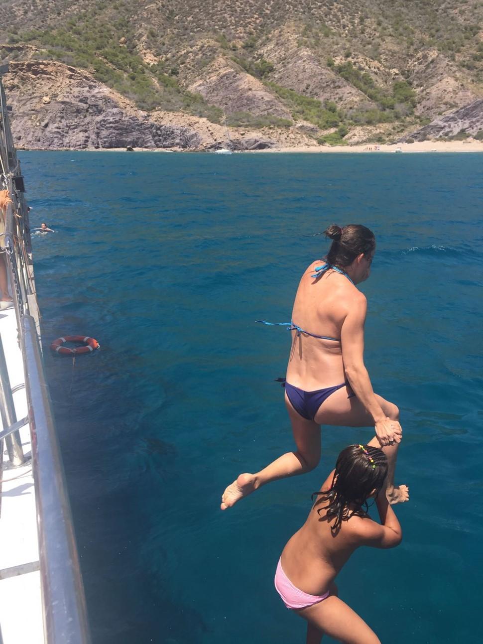 María L Especial Verano 2017 Salto con mi hija