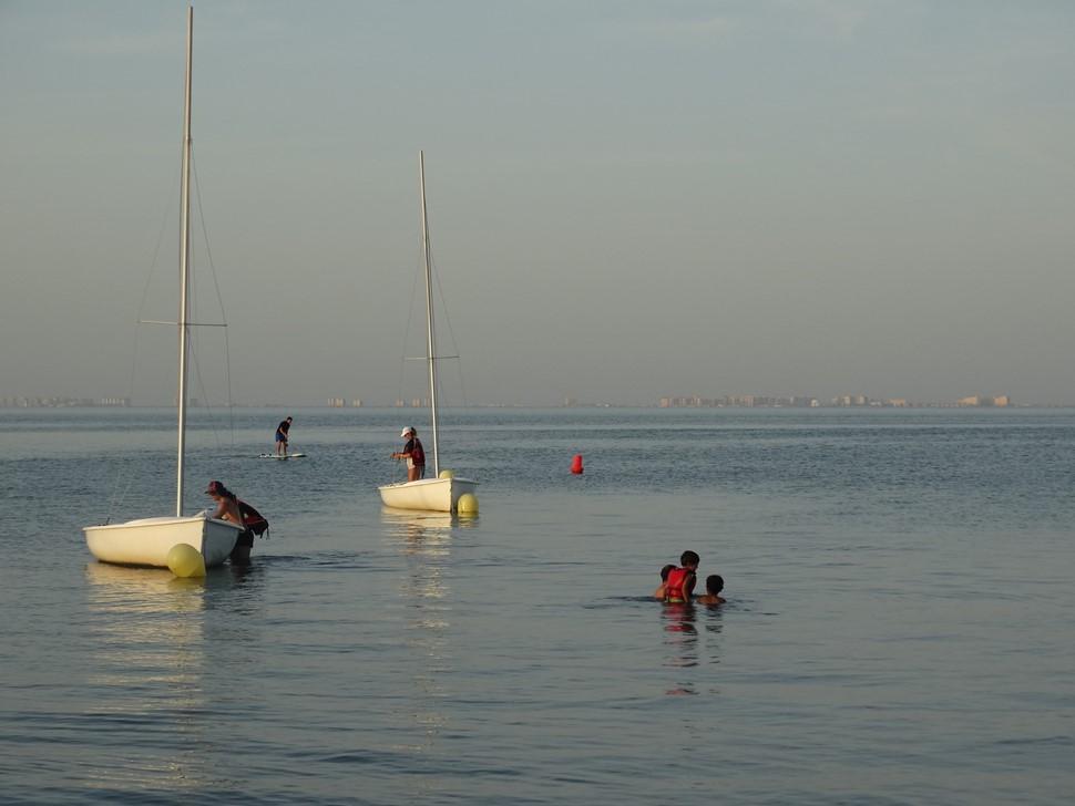 Pedro S El verano es Azul Atardecer de relax en el Mar Menor1
