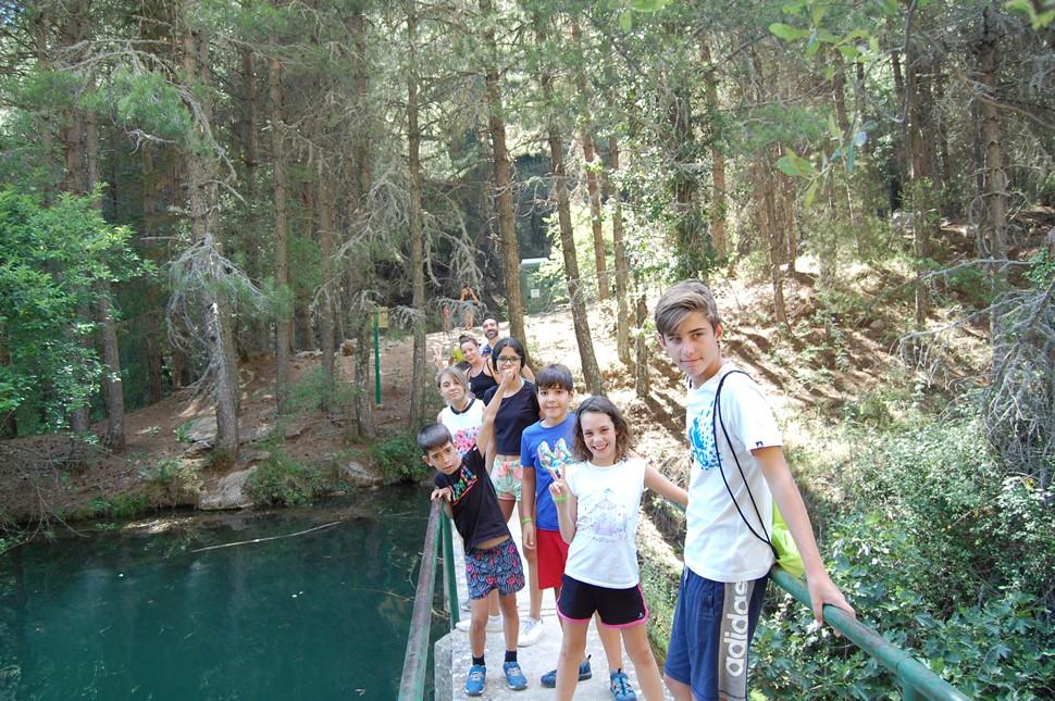 Pilar O Multiaventura en Cazorla Verano 2017 De paseo por Cazorla