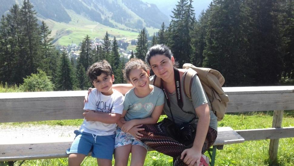 Silvia M Granjeros en el Tirol 01