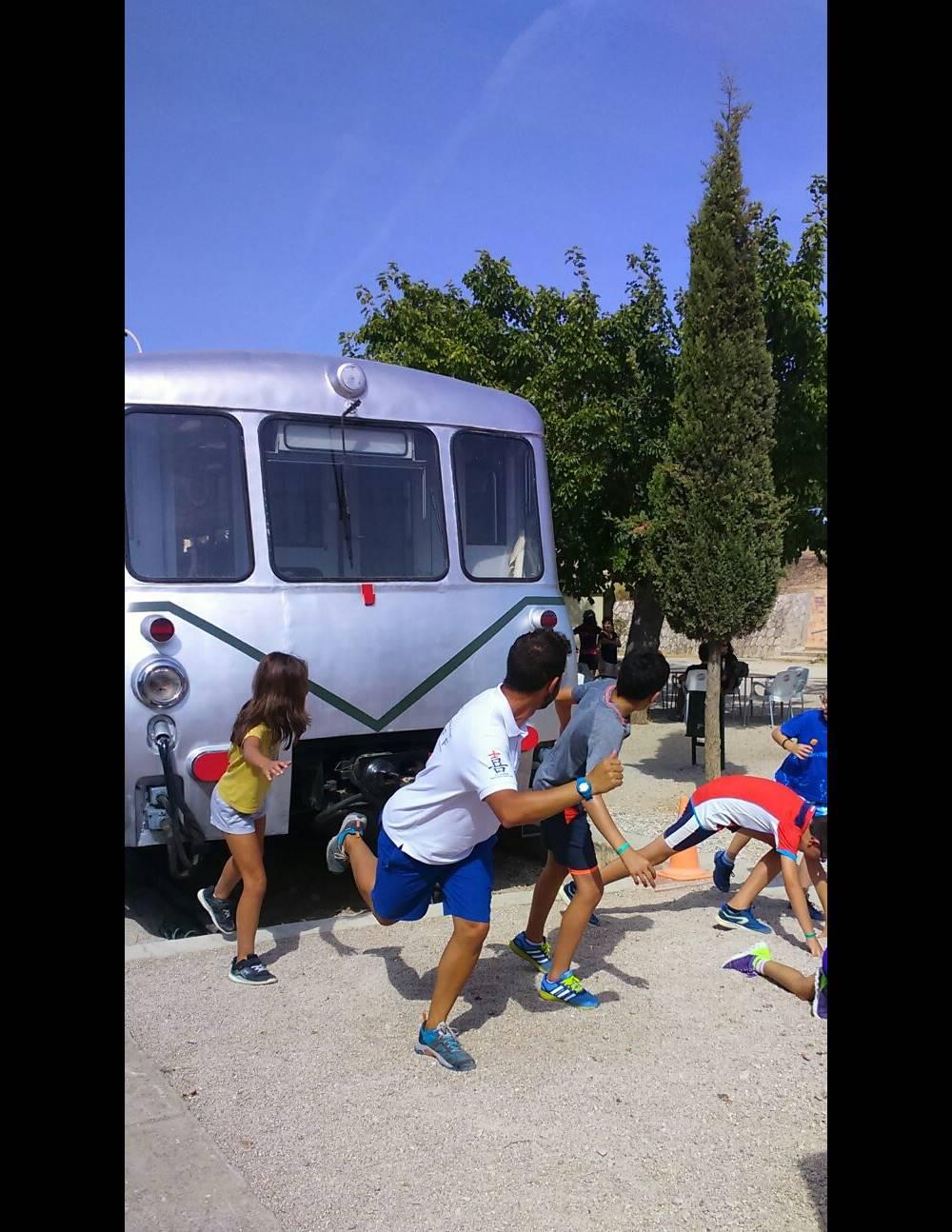 Vicenc D Efecto Vilar Rural Verano 2016 Cuidado con el tren