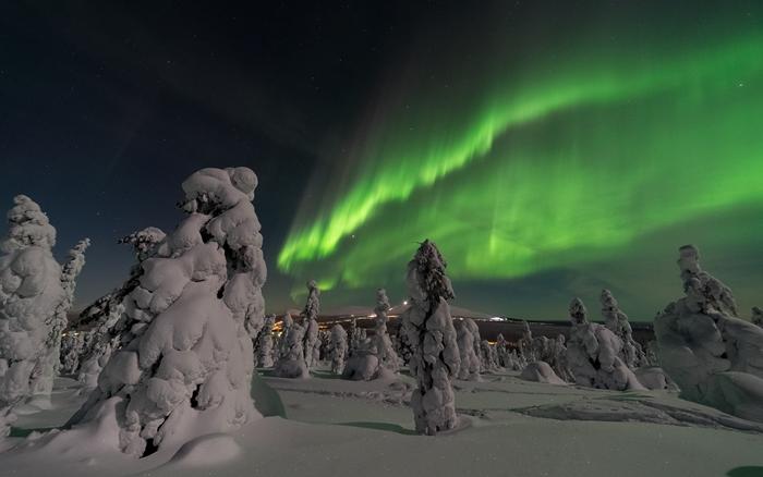 aorora borealis laponia