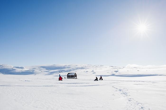 pesca en el hielo lapland
