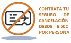 seguro cancelacion vcth18