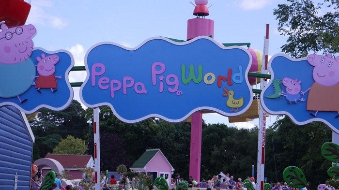 entrada peppapig world