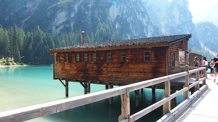 lake beauti