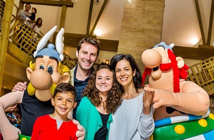 parque asterix vacaciones con hijos 2017