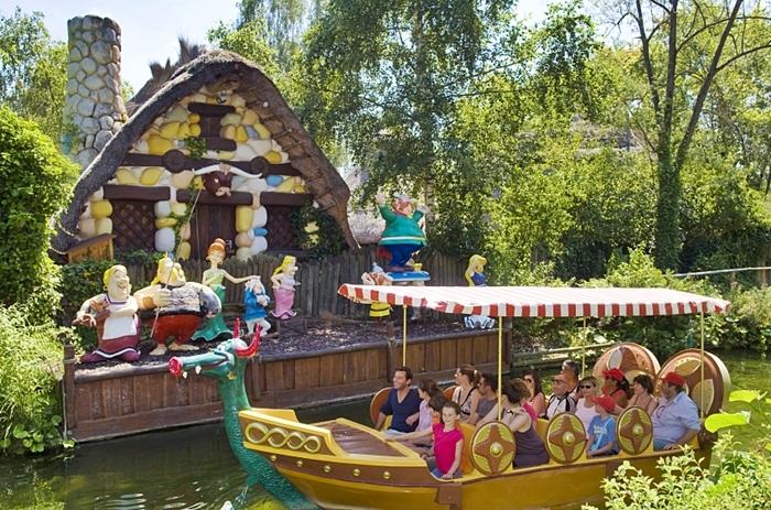 parque asterix vacaciones con hijos donde ir
