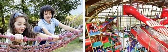vacaciones con hijos parque erperheide belgica