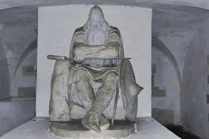 vikingo piedra